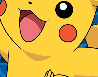 Pikachu Beach Towel 28x58