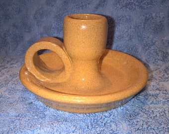 Vintage Pottery Candle Holder