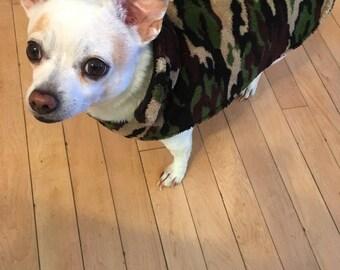 Up Cycled Dog Coat