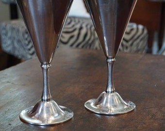 Pair of WMF Art Deco Goblets/Wedding Toasting Goblets/