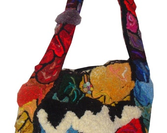 Palette - embroidery sculpted handbag (David Wolfe, 2013)