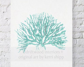 Sea Coral in Woodlawn IV Print