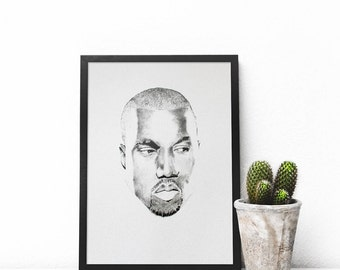 Kanye West PRINT