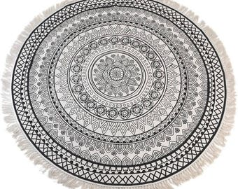 Rug round cotton ORIENT