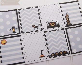 Halloween Stickers Full Box Planner Stickers eclp PS157 Fits Erin Condren Planners