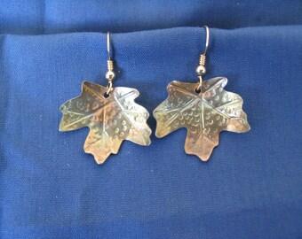 Canyon Maple Leaf Earrings