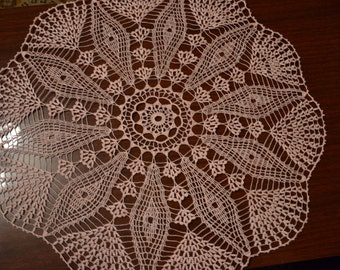 "Crochet doily ""Tenderness"""
