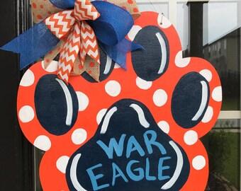 War Eagle Tiger Paw