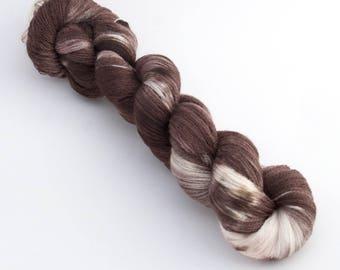 Sundae - Lace Organic Merino Cobweb Yarn Hand Dyed