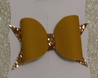 Suede large hair clips or bobbles