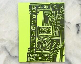 Dutch Boy Paints, Neon Edition, Single Card