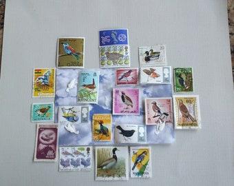 Bird Stamps from around the World