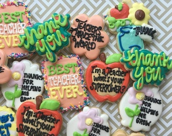 LOCAL Mix of Back to School Cookies