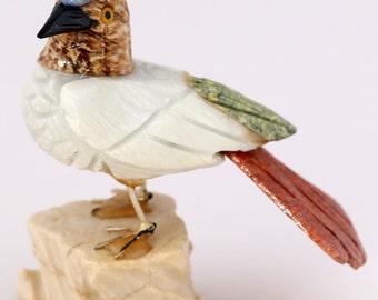 Hand Carved Stone Bird  BIR5