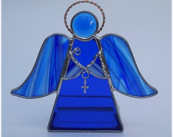 Blue Angel Votive Candle holder