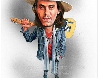 Don Howard's Depiction of John Mayer Limited Edition Celebrity Caricature