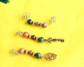 Dreadlock jewelry, Wire w...