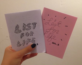 LIST FOR LIFE mini zine vol. 2