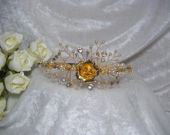 Wedding Bridal Headband Side Tiara