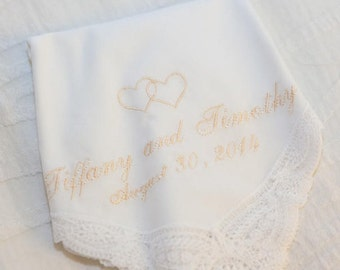 Keepsake Hankie personalized