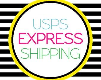 Express Shipping Ugrade