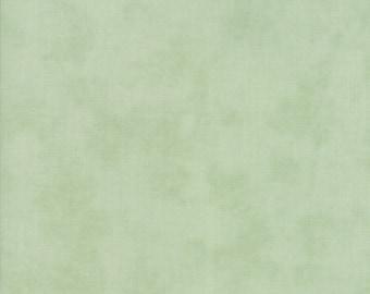 Fig Tree Fabric - Ella and Ollie Fabric Yardage - Moda Quilt Fabric - Aqua Green Tone on Tone Fabric By The 1/2 Yard -
