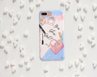 Inspirational Quote iPhone 8 Case Inspirational iPhone X Case Cute iPhone 8 Plus Case Cute iPhone 7 Plus Case Floral iPhone X