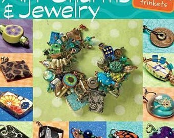 Making Mixed-Media Art Charms & Jewelry Softcover BOOK