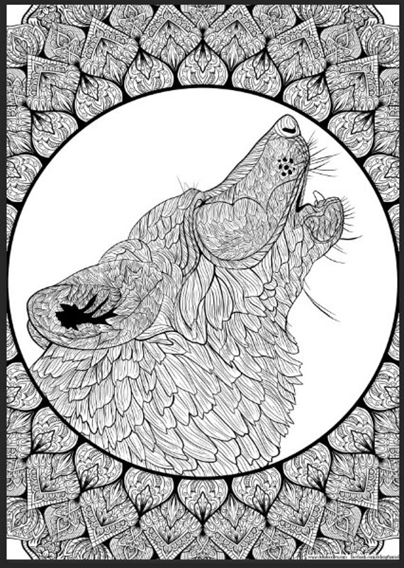 detailed printable fantasy coloring pages - photo#30