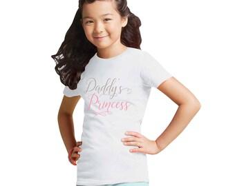 Daddy's Princess Girl T-Shirts