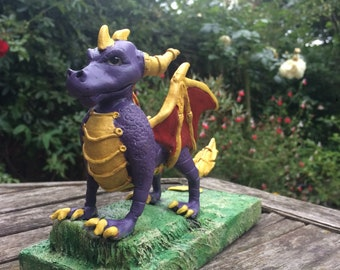 OOAK Hand Made Purple Dragon inspired by SPYRO