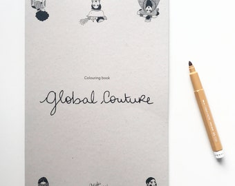 Colouring Book Global Couture