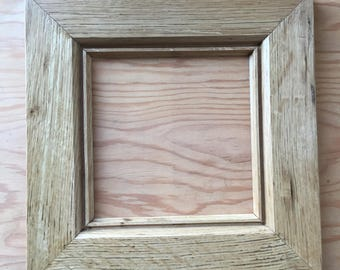 Reclaimed Oak and Barn Wood Picture Frames