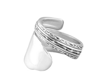 Spoon Ring, Elegance, Silver Spoon Jewelry, Handmade ring, Vintage ring, Spoon Jewelry, Silver ring, Sterling spoon ring, Silver Spoon Ring