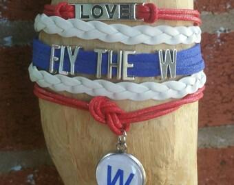 Fly the W infinity bracelet