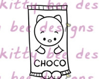 Choco Bar Kit Digital Stamp