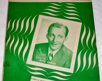 Sioux City Sioux ~ Sheet Music 1945 - Featured by Bing Crosby