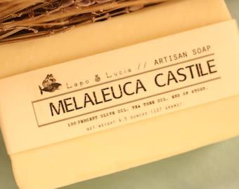Melaleuca Castile | Artisan Soap | Handmade Soap