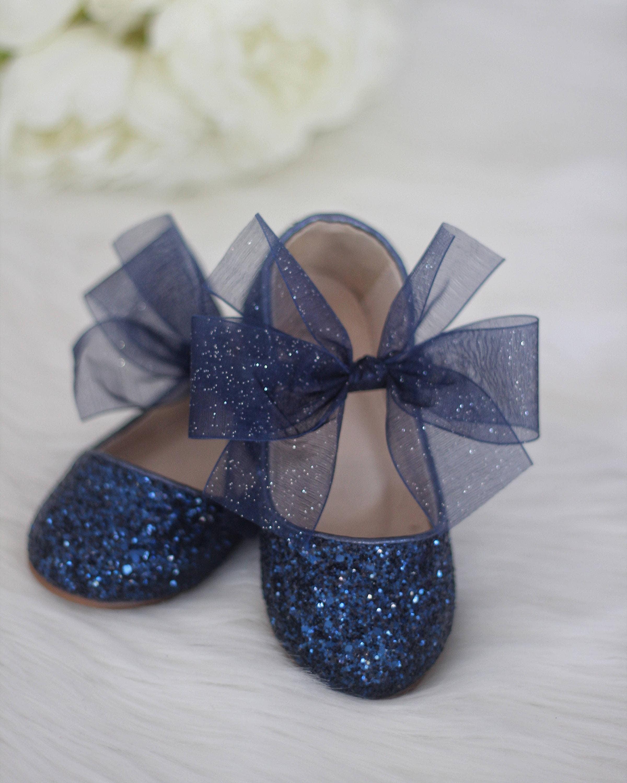 Infant girl Toddler girl shoes Kids Girls Shoes NAVY BLUE