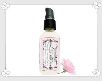 Organic Face Serum  Anti  Aging Serum. Hyaluronic Acid - DMAE - Retinol  Vitamin A,  Vitamin C  Regenerates & Moisturizes Skin