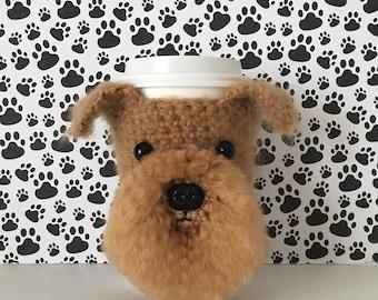 Brussels Griffon Mug Cozy, Griffon Dog, Crazy Dog Lady, Belgium Griffon, Dog Breed Gifts, Dog Mom Gift, Dog Cozy, Gift for Dog Mom