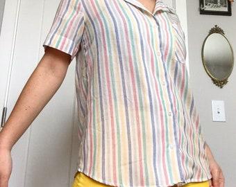 Vintage Primary Color Shirt