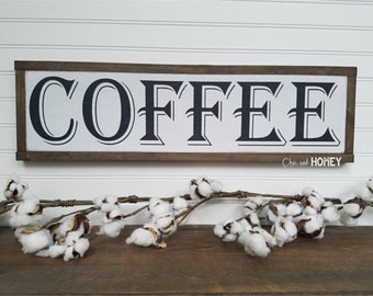 Coffee Sign - Coffee Decor - Kitchen Decor - Coffee Bar