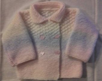Multicolor baby jacket in size 1 year