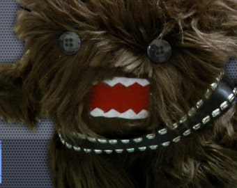 Chewbacca Domo Plush - PATTERN ONLY