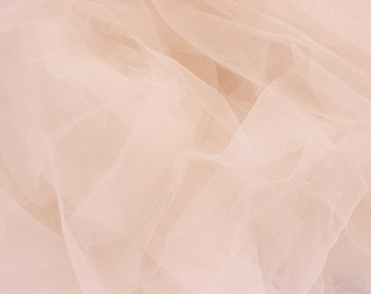 1/2 YD Blush Bra Tulle Bra Making