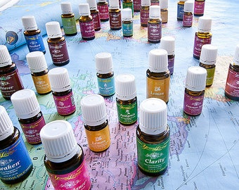 Young Living Essential Oil Samples Thieves Peppermint and more!