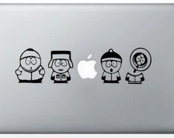 South Park for MacBook stickers