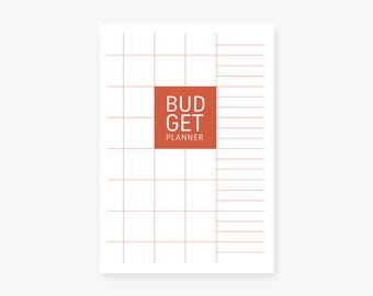 Budget Planner, Printable Organiser, Weekly Planner, Monthly Planner, Pages, Envelope, A4, A5, US Letter, Half Letter. INSTANT DOWNLOAD!
