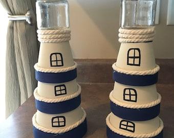 1 Homemade lighthouse nautical